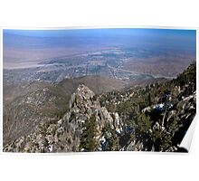 """"""" A view of the Coachella Valley """" Poster"""