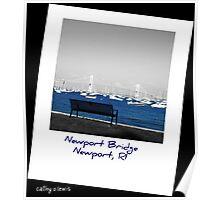 Newport Bridge, RI Poster