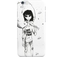 SOMETHING FUNNY.  iPhone Case/Skin