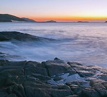 Fingal Bay Sunrise by Centralian Images