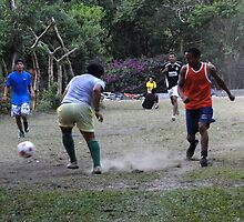 El Valle, Panama Football by Al Bourassa