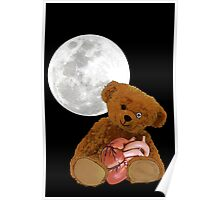bear with a heart Poster