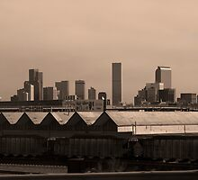 Downtown Denver Colorado by Roschetzky
