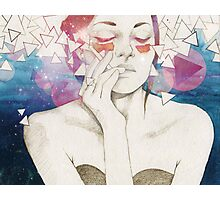 Glitter Photographic Print