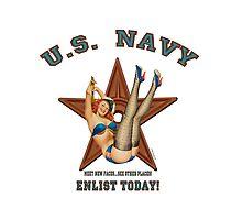 Vintage Styled U.S. NAVY....Enlist Today! by Kricket-Kountry