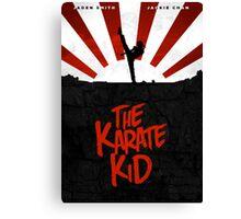 KARATE KID (2010) Movie Poster Design Canvas Print