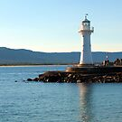 Historic Lighthouse, Wollongong by Michael John