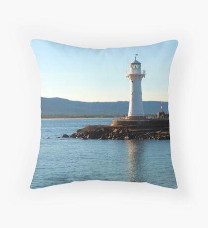 Historic Lighthouse, Wollongong Throw Pillow