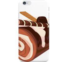 Chocolate Dessert Roll iPhone Case/Skin