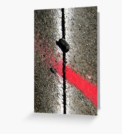 abstractlyConcrete Greeting Card