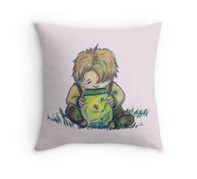fireflies Throw Pillow