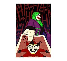 Hijabi Joker Photographic Print