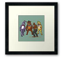 Alpha Animatronic Framed Print