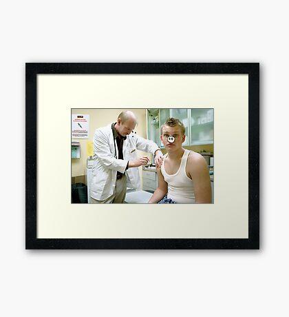 Swine Flu Framed Print