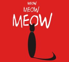 MEOW MEOW MEOW by Jean Gregory  Evans