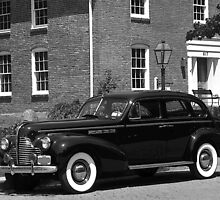 Buick Eight in Old Towne St. Charles Missouri by Sherry Graddy