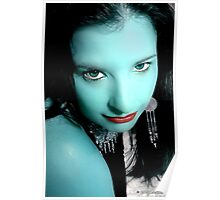 Emerald Goddess Poster