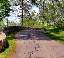 Rock Wall Road to Castle Hill by Monica M. Scanlan