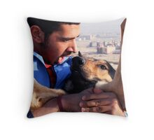 Love Is Painful Throw Pillow
