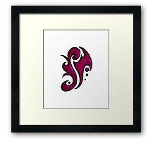 Jameson / جيامسن (magenta) Framed Print