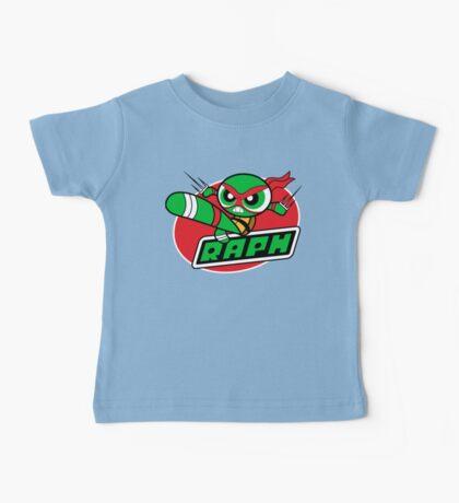 Powerpuff Raph Baby Tee