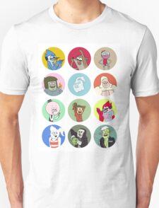 Regular Show Cast T-Shirt