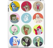 Regular Show Cast iPad Case/Skin
