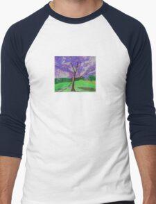 The Jacaranda Tree Men's Baseball ¾ T-Shirt