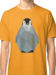 Cute Polygon Baby Penguin Classic T-Shirt