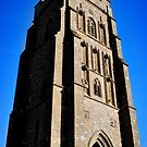 St. Michael's Tower on the Glastonbury Tor by Laura Cooper