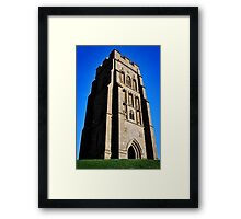 St. Michael's Tower on the Glastonbury Tor Framed Print