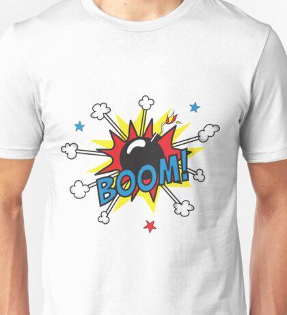 Onomatopoeia - Boom! Unisex T-Shirt