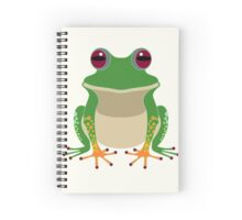 FINGERS & TOES FROG Spiral Notebook