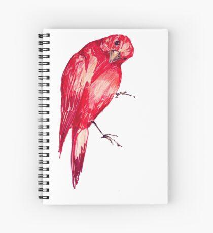 Hello! Bird Spiral Notebook