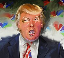 Portrait of Donald J. Trump by Michael Jaecks