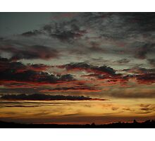 Dorset Skyscape Photographic Print