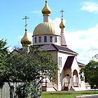 Russian Orthodox Church, Rocklea, Qld, Australia by Margaret  Hyde