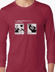 Man vs Lunch Long Sleeve T-Shirt