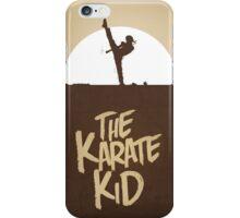 KARATE KID - Minimal Silhouette Poster Design iPhone Case/Skin