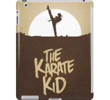 KARATE KID - Minimal Silhouette Poster Design iPad Case/Skin