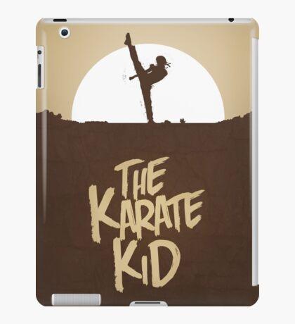 KARATE KID - Minimal Silhouette Poster Design iPad Case/Skin
