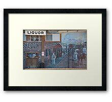 Catherine Saloon Framed Print