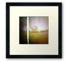 pinhole dreams Framed Print