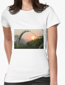 Natural Frame Womens Fitted T-Shirt