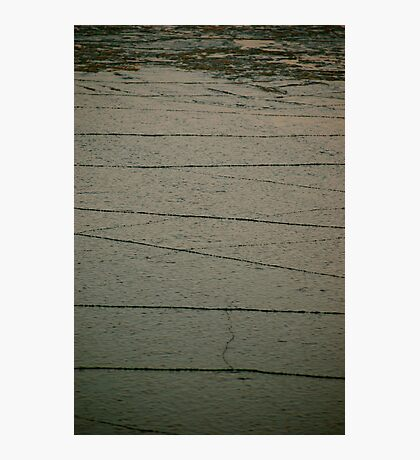 Ice crack Photographic Print