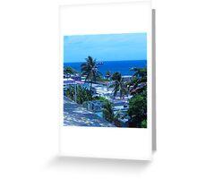 Old San Juan, Puerto Rico Greeting Card
