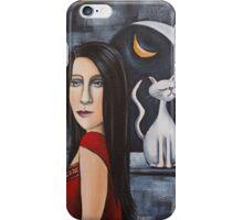 Lady Catdiva iPhone Case/Skin