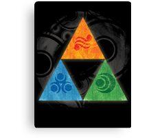Zelda - Triforce Canvas Print