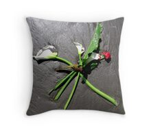 Sea Bouquet Throw Pillow