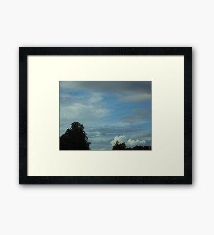 Peace Beyond Framed Print